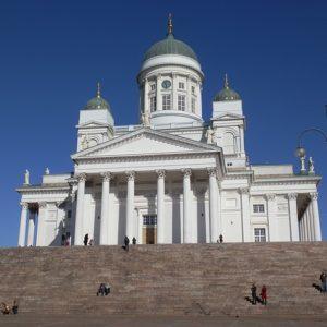 Кафедральный собор в Хельсинки. Фото: pixabay.com.