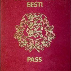 Паспорт Эстонской Республики. Фото: wikimedia.org .