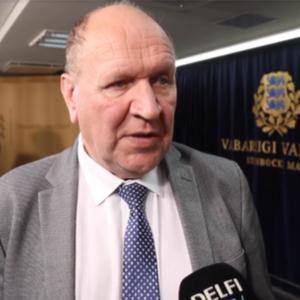Министр МВД Эстонии Март Хельме.   Автор/Источник фото: скриншот с видео ERR.